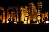 Luxor in der nacht — Stockfoto