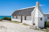 White washed house at Arniston — Stock Photo