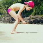 Kid on the beach — Stock Photo #40297161