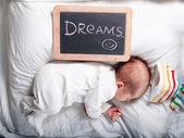Bébé qui dort — Photo