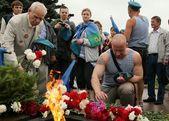 россия. день воздушно-десантных сил 02.08.13. — Стоковое фото