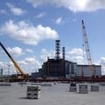 Chernobyl power plant. Sarcofagus. — Stock Photo #28597029