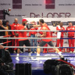 Постер, плакат: Klitschko Open training