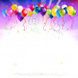 Festive background with balloons — Stock Vector #28792803