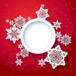 Red Christmas design — Stock Vector #28795097