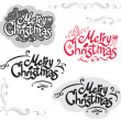 Merry Christmas design — Stock Vector #30678165