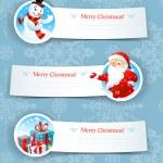 Christmas banners — Stock Vector #30678947