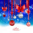 Christmas festive background — Stock Vector