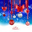Christmas festive background — Stock Vector #30680031