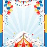 Circus poster — Stock Vector #30754555