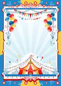 Circus poster — Stockvector
