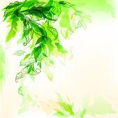 抽象的自然背景 — 图库矢量图片