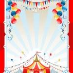 Bright circus frame — Stock Vector #32934041
