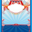 Circus background — Stock Vector #32934051