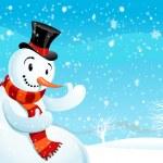 Snowman — Stock Vector #33082287