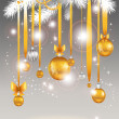 Christmas light background.  — Stock Vector