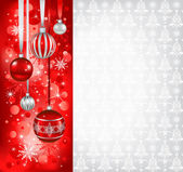 Christmas holiday background — Stock Vector