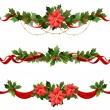 Christmas decoration — Vector de stock