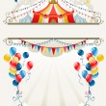 Circus frame — Stock Vector #33539933