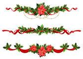 Vánoční dekorace — Stock vektor