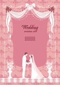 Wedding background — Stock Vector