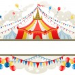 Circus tent frame — Stock Vector #33663347