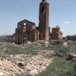 Belchite old village — Stock Photo