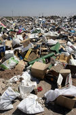 Rubbish, Aragon, Spain — Stock Photo