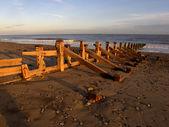 Plaża, spurn point — Zdjęcie stockowe