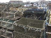 Lobster pots — Stock Photo