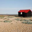 Stock Photo: Rye harbour, East Sussex, Fishermans hut