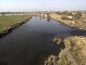 River south esk durch brücke dun — Stockfoto