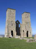 St Marys Church, Reculver, Kent, — Stock Photo