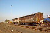 Freight Train On The Track — Stock Photo