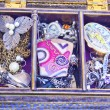 Stock Photo: Jewellery Box and Costume Jewelry