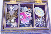 Jewellery Box and Costume Jewelry — Foto de Stock