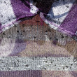 Close Up Abstract View Of Knitted Garment — Stock Photo