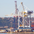 Heavy Duty Crane in Durban South Africa Harbor — Stock Photo