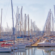 View of Yachts Moored in DurbHarbor South Africa — Stock Photo #32487859