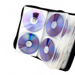 Foto Stock: Right Side View Of Compact Disk Holder