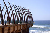 Scenic View Of The Pier At Umhlanga Rocks Durban South Africa — Stock Photo