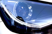Abstract Close Up of Vehicle Head Lamp — Stock Photo