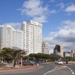 Stock Photo: Residential Complexes Along Durbans Golden Mile Beachfront