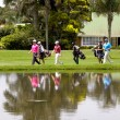 Golfers at Mount Edgecombe Golf Club in Durban South Africa — Stock Photo #37742011
