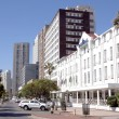 Stock Photo: View of Buildings along Beachfront in Durban