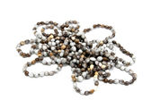 Isolated Collection of Hand Made Zulu Bead Necklaces — Stock Photo
