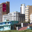 View of Residential Complexes on Beachfront in Durban South Afri — Stock Photo #40714019