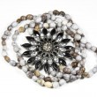 Stock Photo: Closeup Arrangement Of Costume Jewelry and Beads