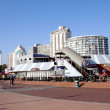 Постер, плакат: Beach Front Promenade in Durban South Africa