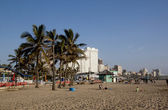 North Beach on Golden Mile in Durban — Stock Photo